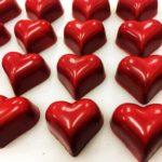 ボンボンショコラ ルージュ ハートチョコレート