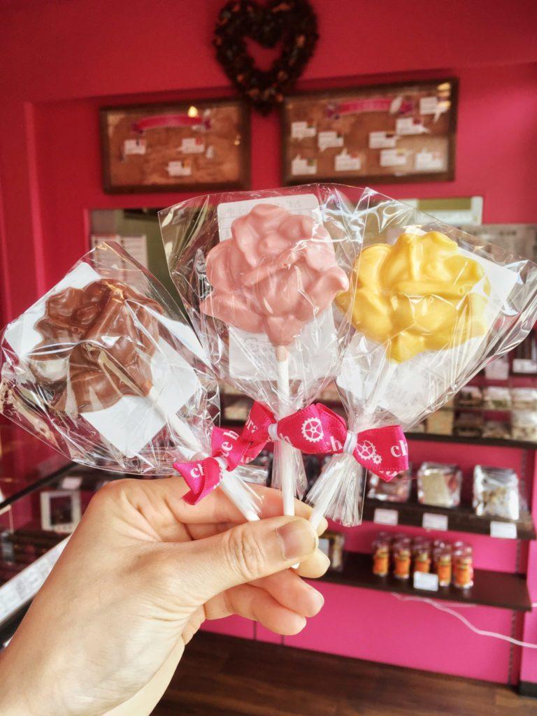 バラのチョコレート2