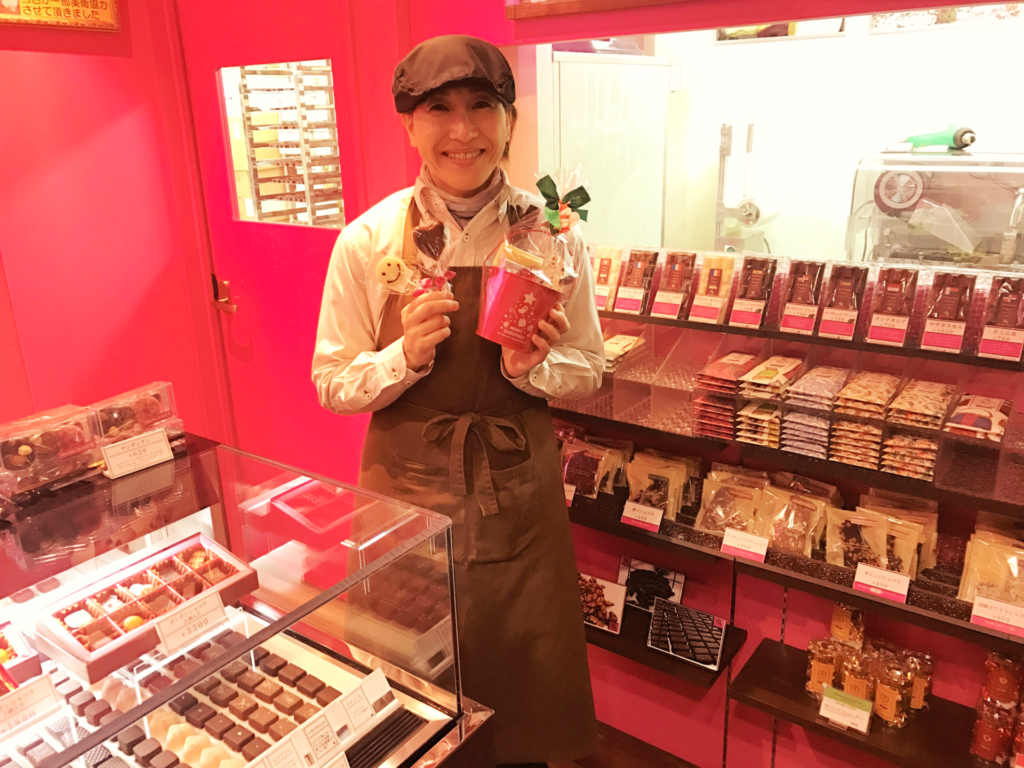 チョコレート 販売スタッフ 募集中